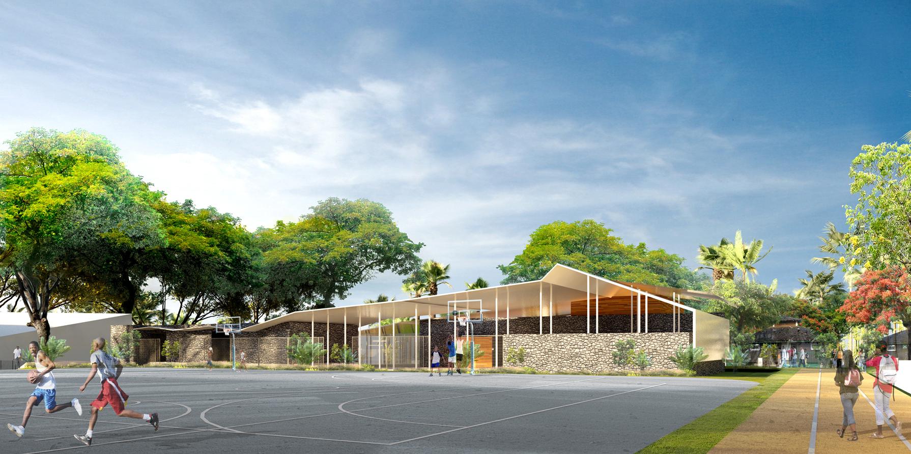 Extension du lycée de Kahani